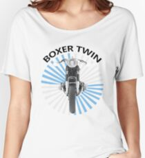 The Boxer Twin Women's Relaxed Fit T-Shirt