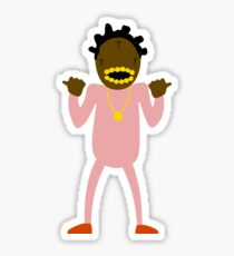 cartoon kodak Sticker