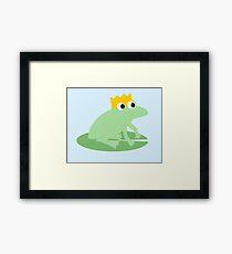 Frog Fairytale Framed Print