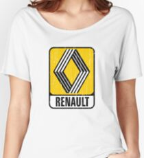 Renault Badge 1972 DISTRESSED Women's Relaxed Fit T-Shirt