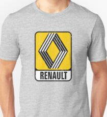 Renault Badge 1972 DISTRESSED Unisex T-Shirt