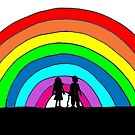 rainbow children by Caroline Munday