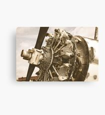 Airplane Motor Canvas Print