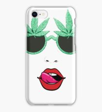 Ganja Glasses iPhone Case/Skin
