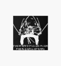 Asura Zoro Version White Art Board
