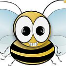 Smiley Bee by Brenda Boo