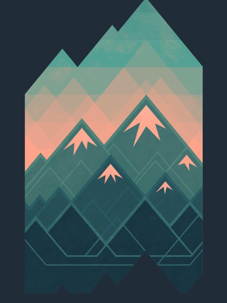 Geometric Mountains by Waynem79