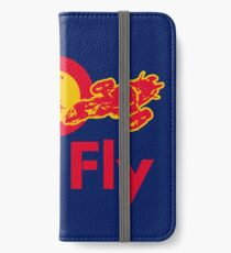 Red Fly iPhone Wallet/Case/Skin