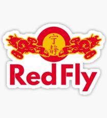 Red Fly Sticker