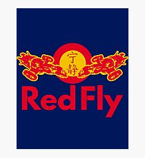 Red Fly Photographic Print