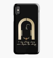 I Was Always Crazy Even Before The Drugs iPhone Case/Skin