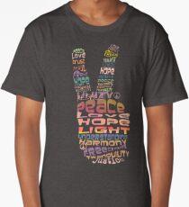 Peace tshirts Long T-Shirt