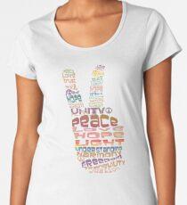 Peace tshirts Women's Premium T-Shirt