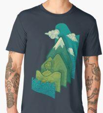 How to Build a Landscape Men's Premium T-Shirt
