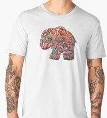 Vintage Elephant TShirt Men's Premium T-Shirt
