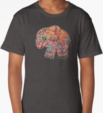 Vintage Elephant Long T-Shirt