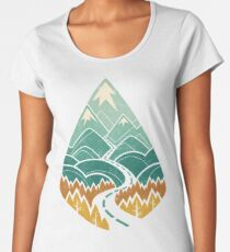 The Road Goes Ever On: Autumn Women's Premium T-Shirt