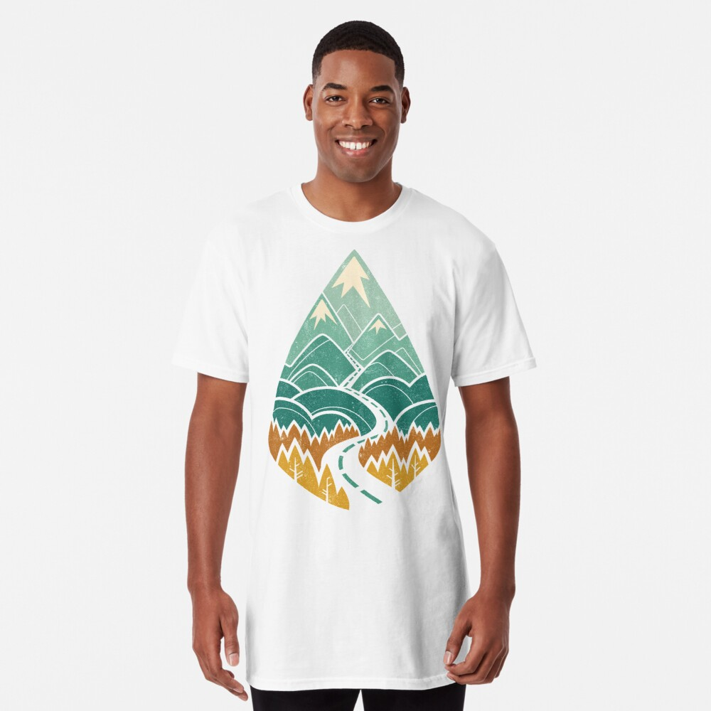The Road Goes Ever On: Autumn Long T-Shirt
