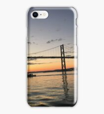 the new bridge at sunset iPhone Case/Skin