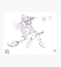 Witch sexy sweet Photographic Print