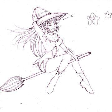 Witch sexy sweet by Nhenya