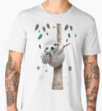 Baby Sloth Daylight Men's Premium T-Shirt