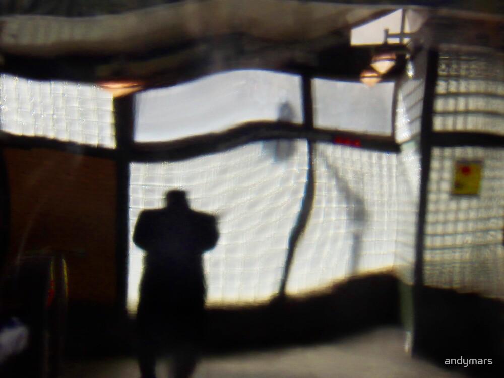 Man at Subway Station by andymars