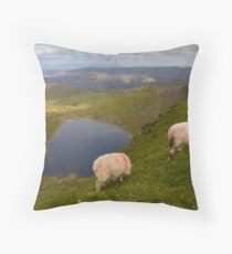 Red Tarn from Helvellyn Throw Pillow