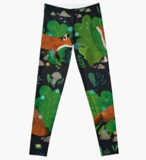 Night in the Magical Forest Leggings