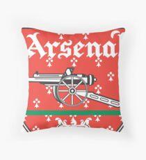 arsenal club Throw Pillow