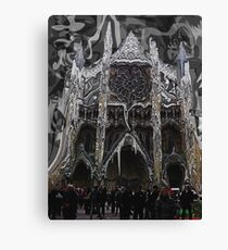 London - Westminster Abbey Painting Canvas Print