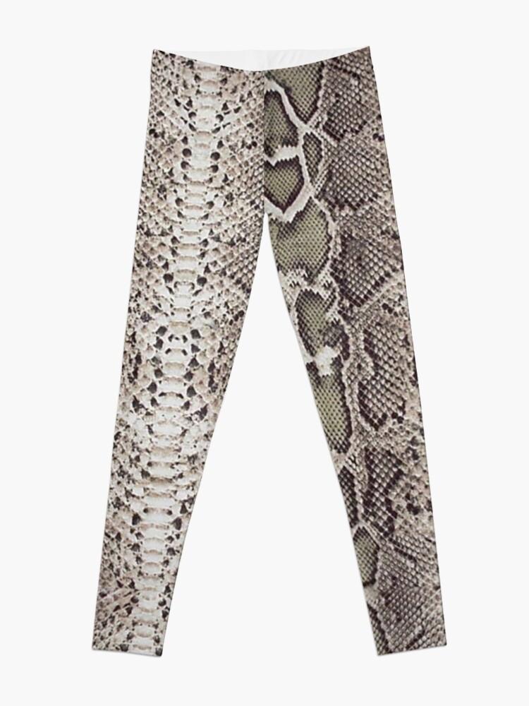 Alternate view of Snake Skin Leggings