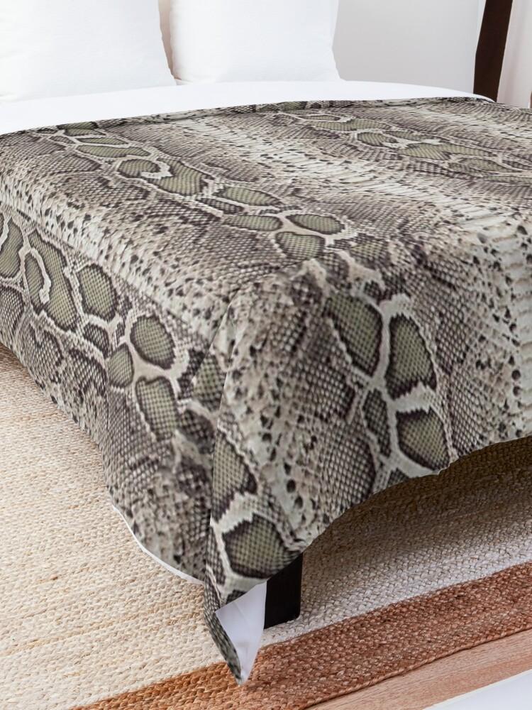 Alternate view of Snake Skin Comforter