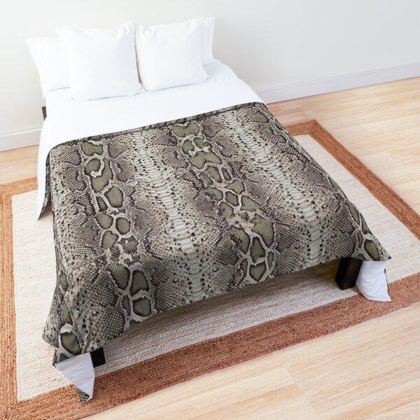 Snake Skin Comforter