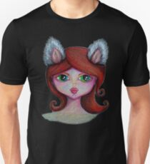 Girl with Wolf Ears Unisex T-Shirt