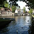 A scene to remember! Bruges. Belgium. by Kay Cunningham