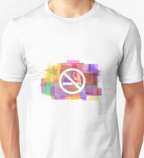 Anti Smoking Modern Art T-Shirt