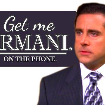 Michael Scott Funny - Get Me Armani - Devil Wears Prada - The Office by sbaldesco