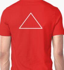 White Triangle Crest Mon T-Shirt