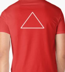 White Triangle Crest Mon T-Shirt