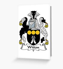Witton  Greeting Card