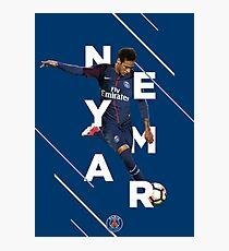 Neymar Jr. - PSG Photographic Print
