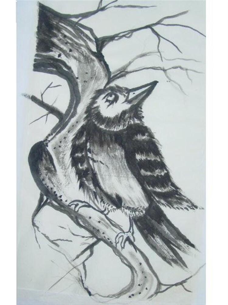 inky bird by giantrabbit