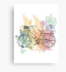 Beach Cruiser Bike Canvas Print