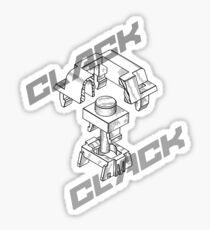 Mechanical Keys Sticker