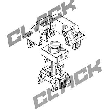 Mechanical Keys by hacklebears