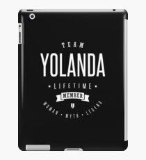 Team Yolanda iPad Case/Skin