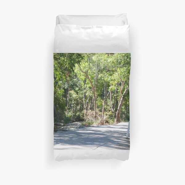 Country road South East Queensland Duvet Cover