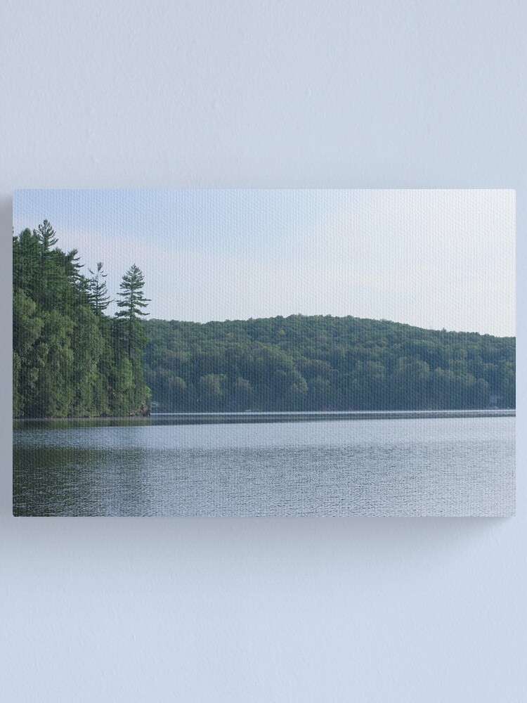 Alternate view of Summer at the lake Canvas Print