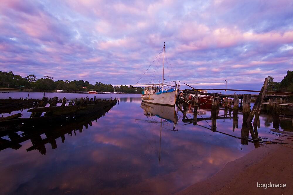 Strahan Fishing Village by boydmace